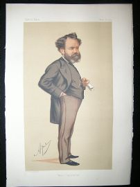 Vanity Fair Print: 1875 Edward James Reed